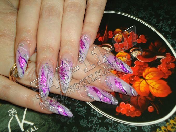 Наращивание ногтей фотографии работ.Ногти фото. Красивые ...