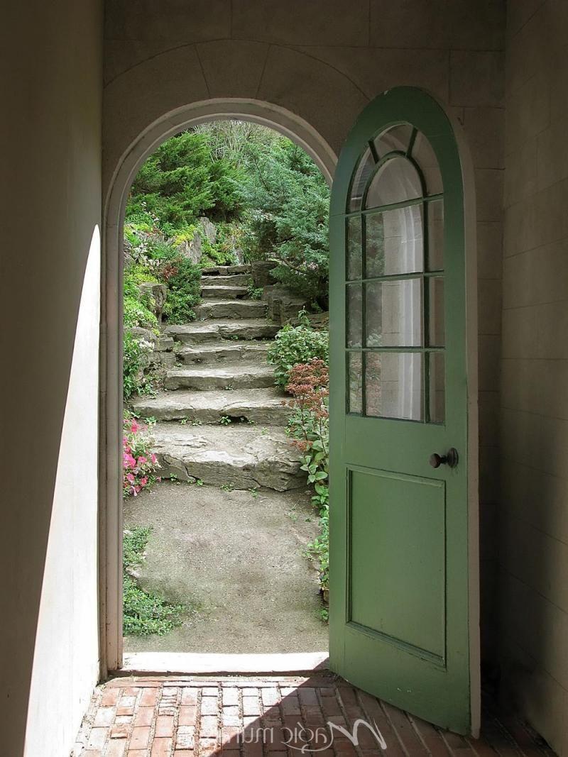 Door to Garden - Click to Zoom!