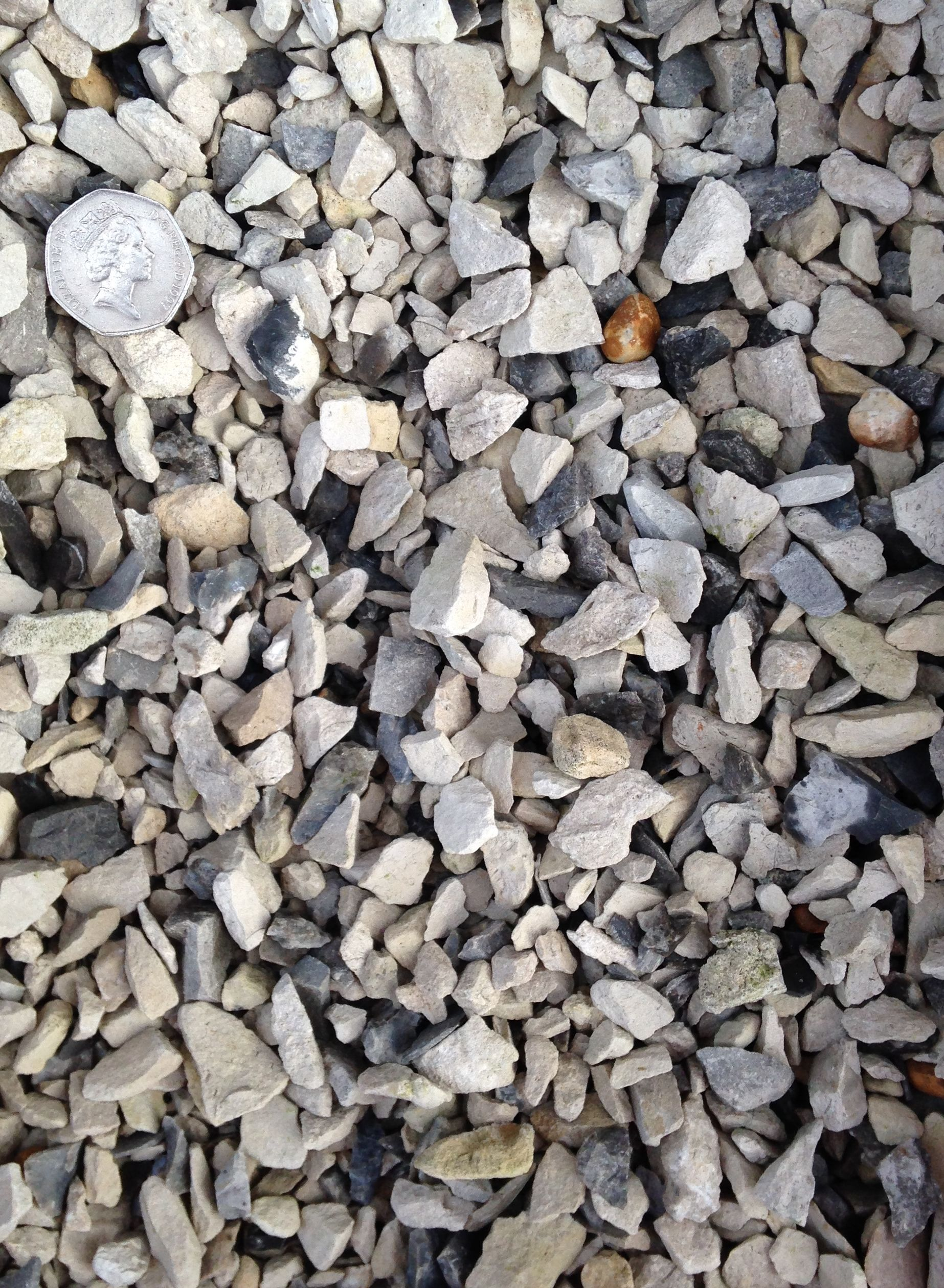 10mm Portland White Chippings With Scale Provided Decorative Gravel How To Dry Basil Color