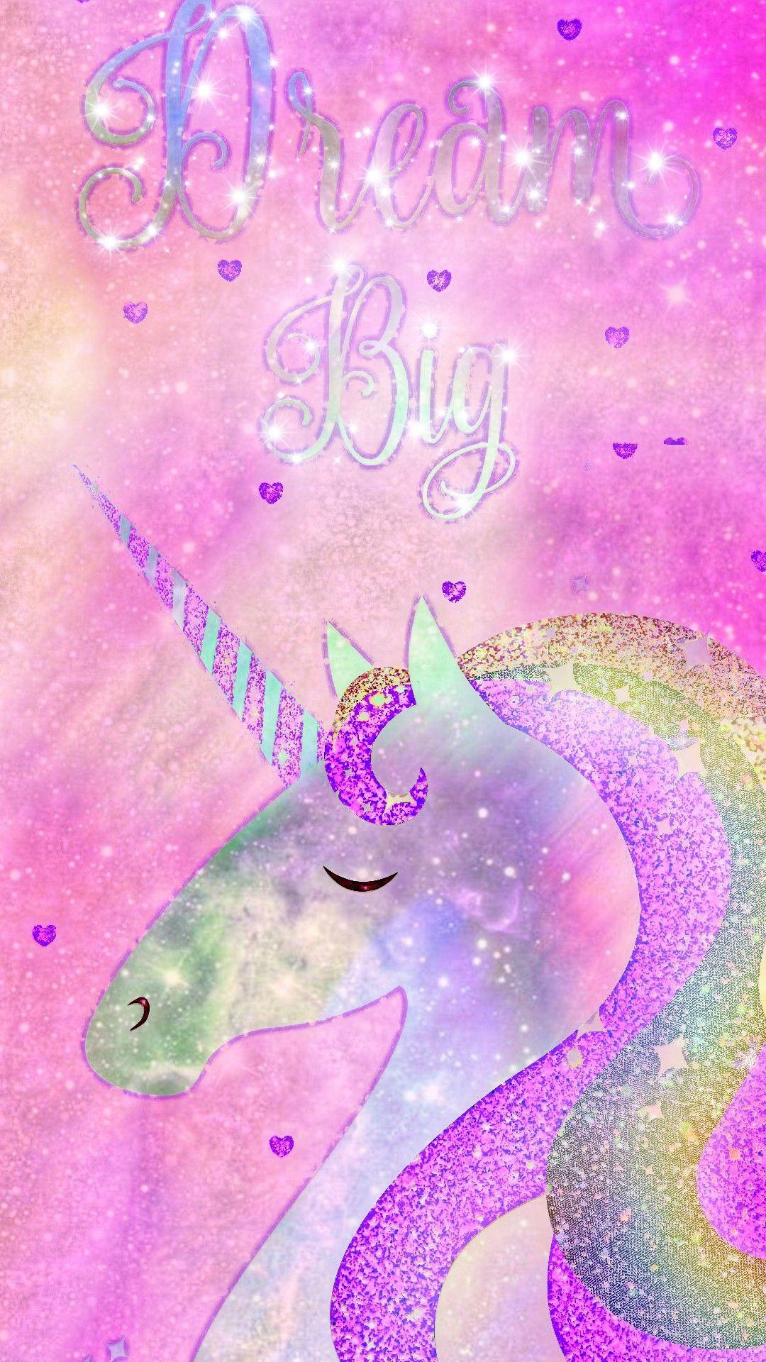 Dream Big Unicorn Made By Me Pastel Kawaii Fantasy Unicorn Pink Galaxy Wallpaper Unicorn Wallpaper Pink Unicorn Wallpaper Mermaid Wallpaper Backgrounds