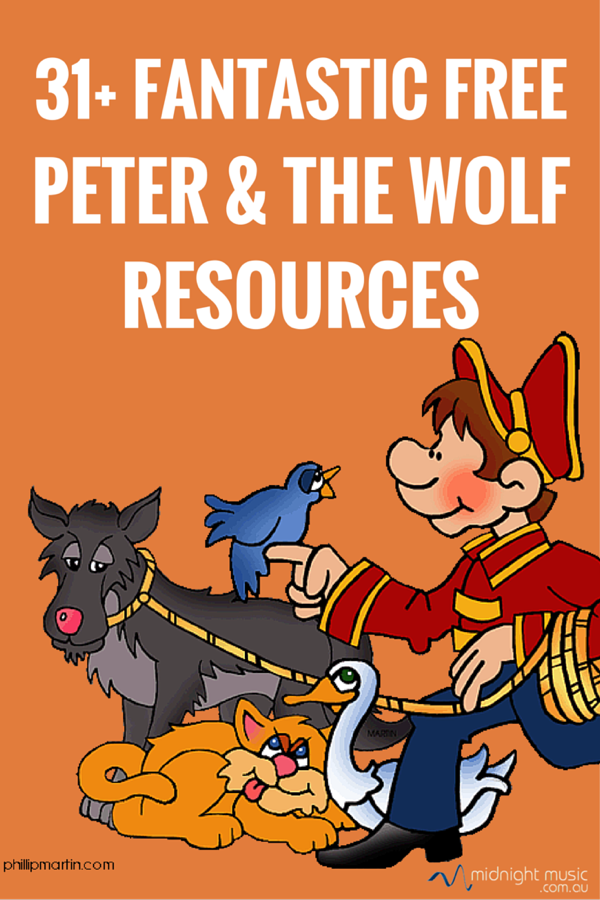 31 fantastic free peter and the wolf resources free music tech resources elementary music. Black Bedroom Furniture Sets. Home Design Ideas