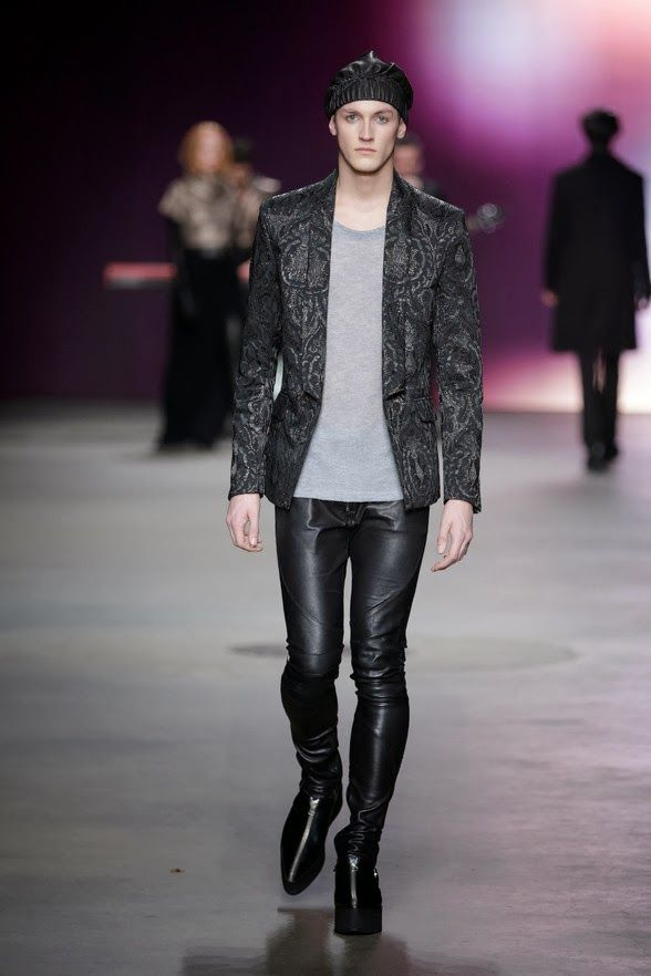 Janboelo Fall/Winter 2014 - Mercedes-Benz Fashion Week Amsterdam #MBFWA | Male Fashion Trends
