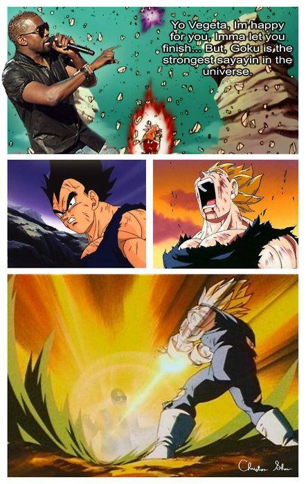 Goku Eating Hot Dog