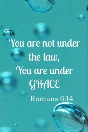 The law only shows us how sinful we are but gives us no power to be able to obey…