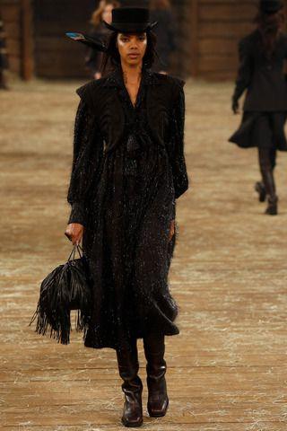 Grace Mahary Photos Pre-Fall 2014 Chanel - Runway on Style.com