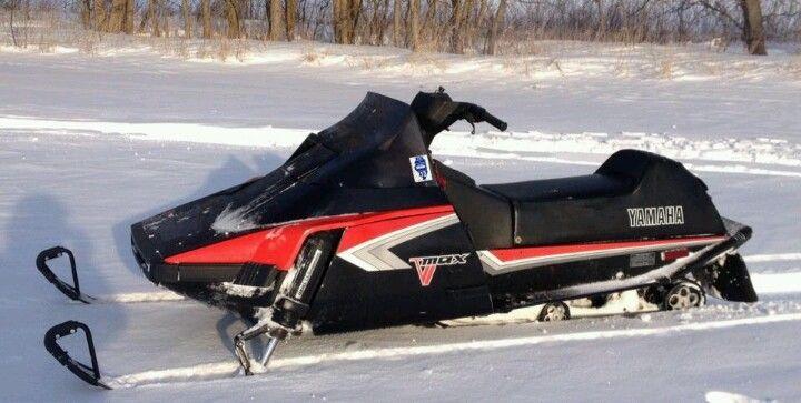 83 Vmax 540 Snowmobile Vintage Sled Yamaha
