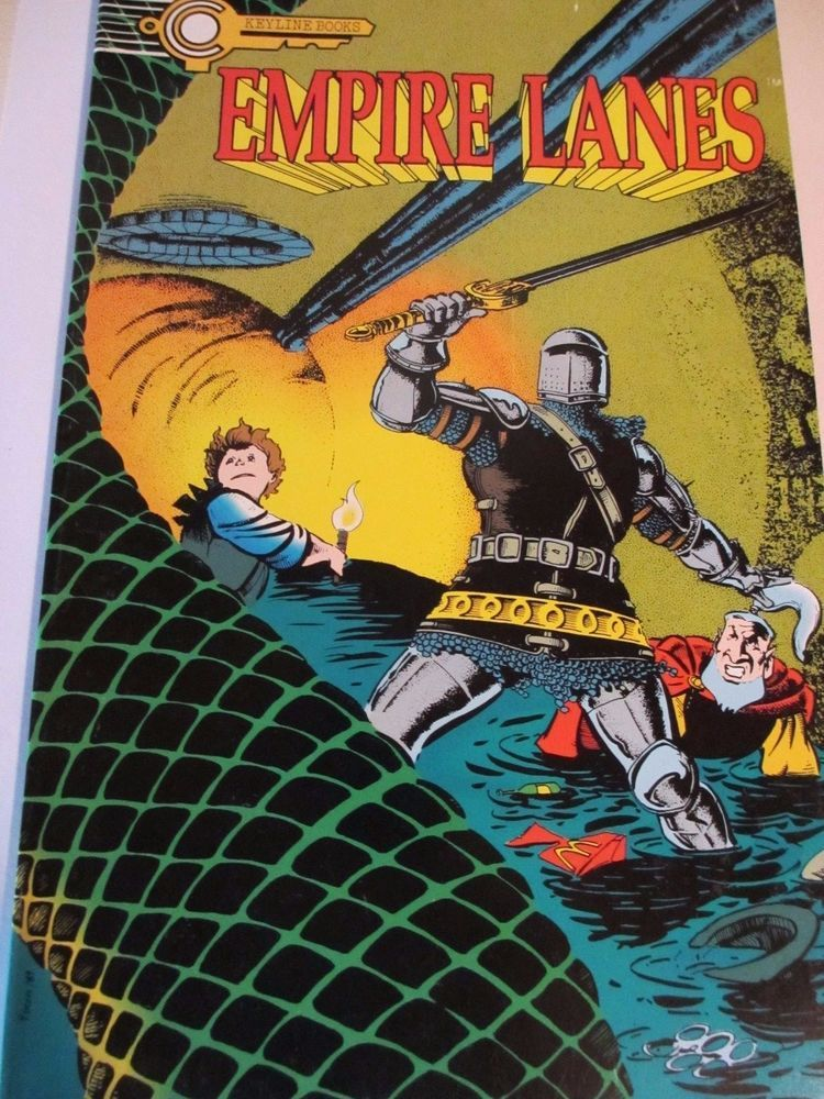 empire lanes isuue 1 by keyline books 1989 comic book