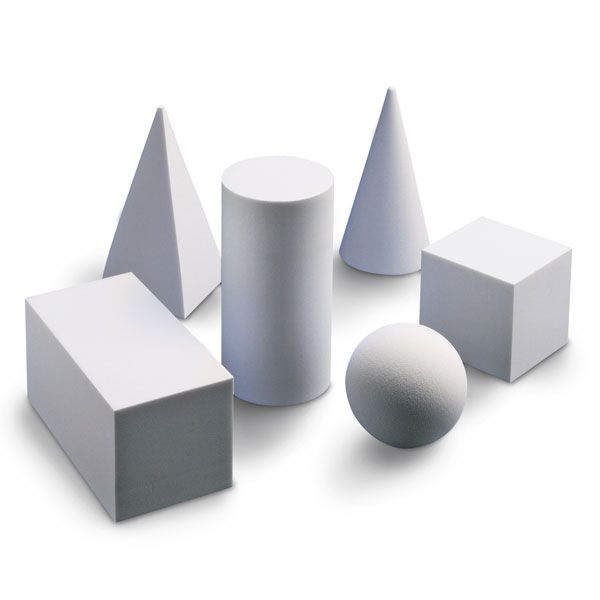 Geometric 3D forms... value | Art- value | Pinterest | 3d and Sketches