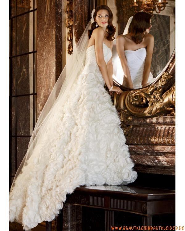 besondere außergewöhnliche glamoure Brautkleider aus Taft und ...