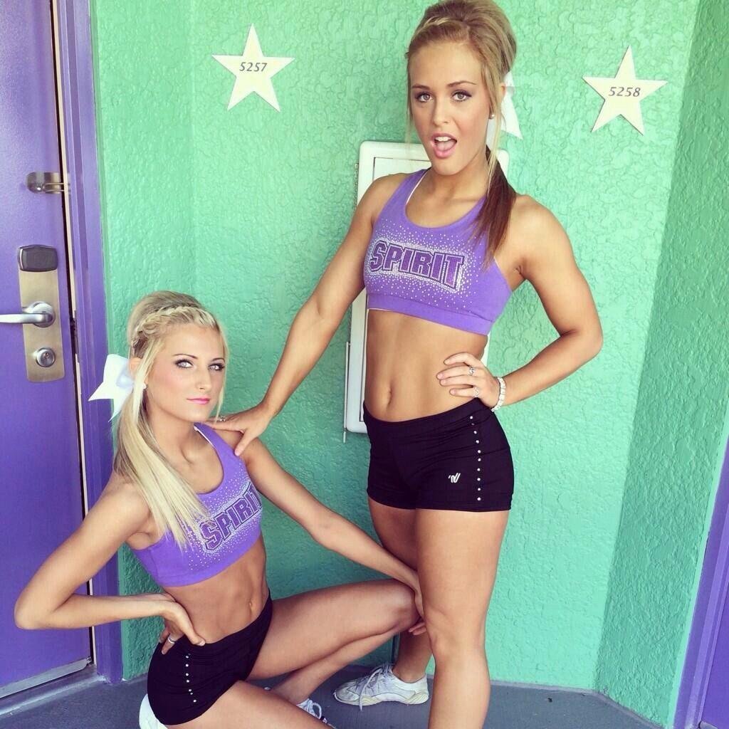 cheerleading-worlds-2014:  cami and Hannah