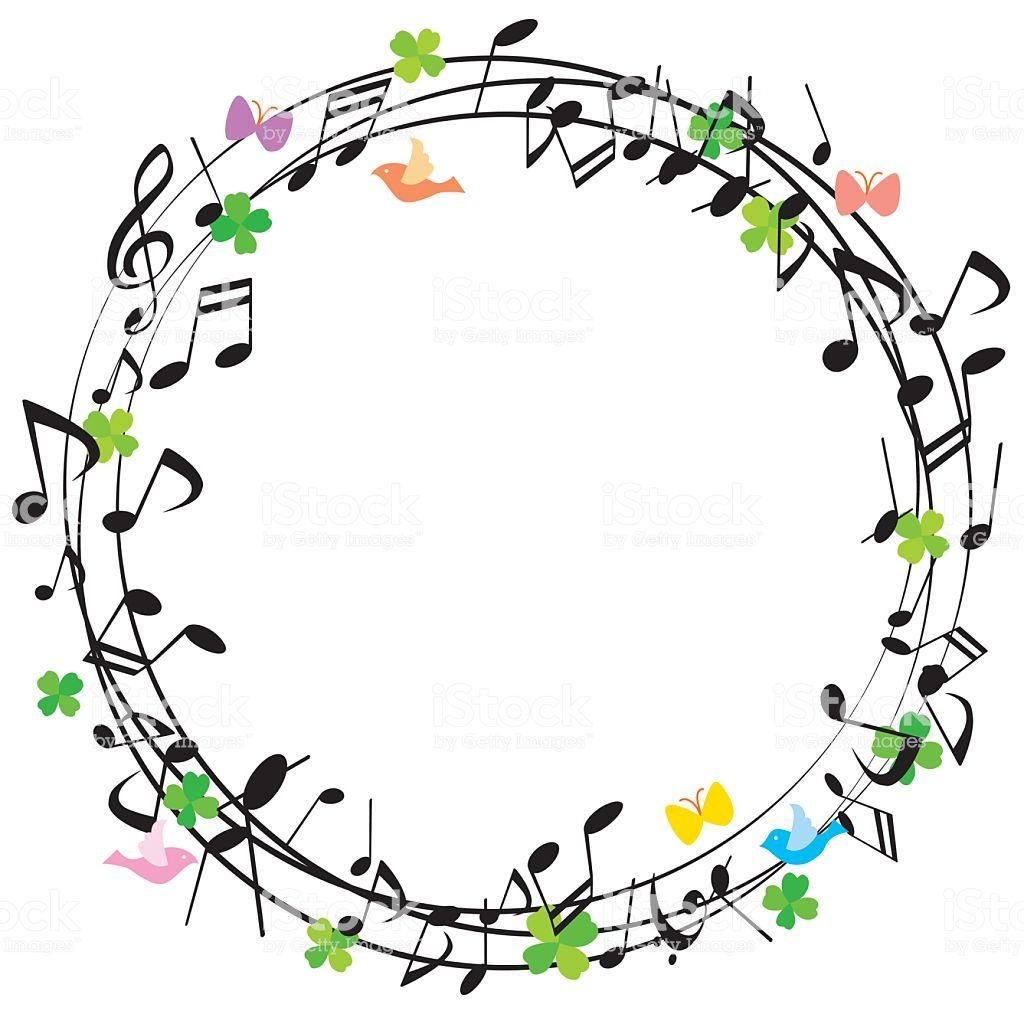 Fun We Note Music Coloring Music Drawings Music Notes Decorations