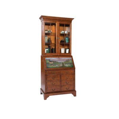 Jasper Cabinet Arlington Computer Secretary Desk With Hutch Finish:
