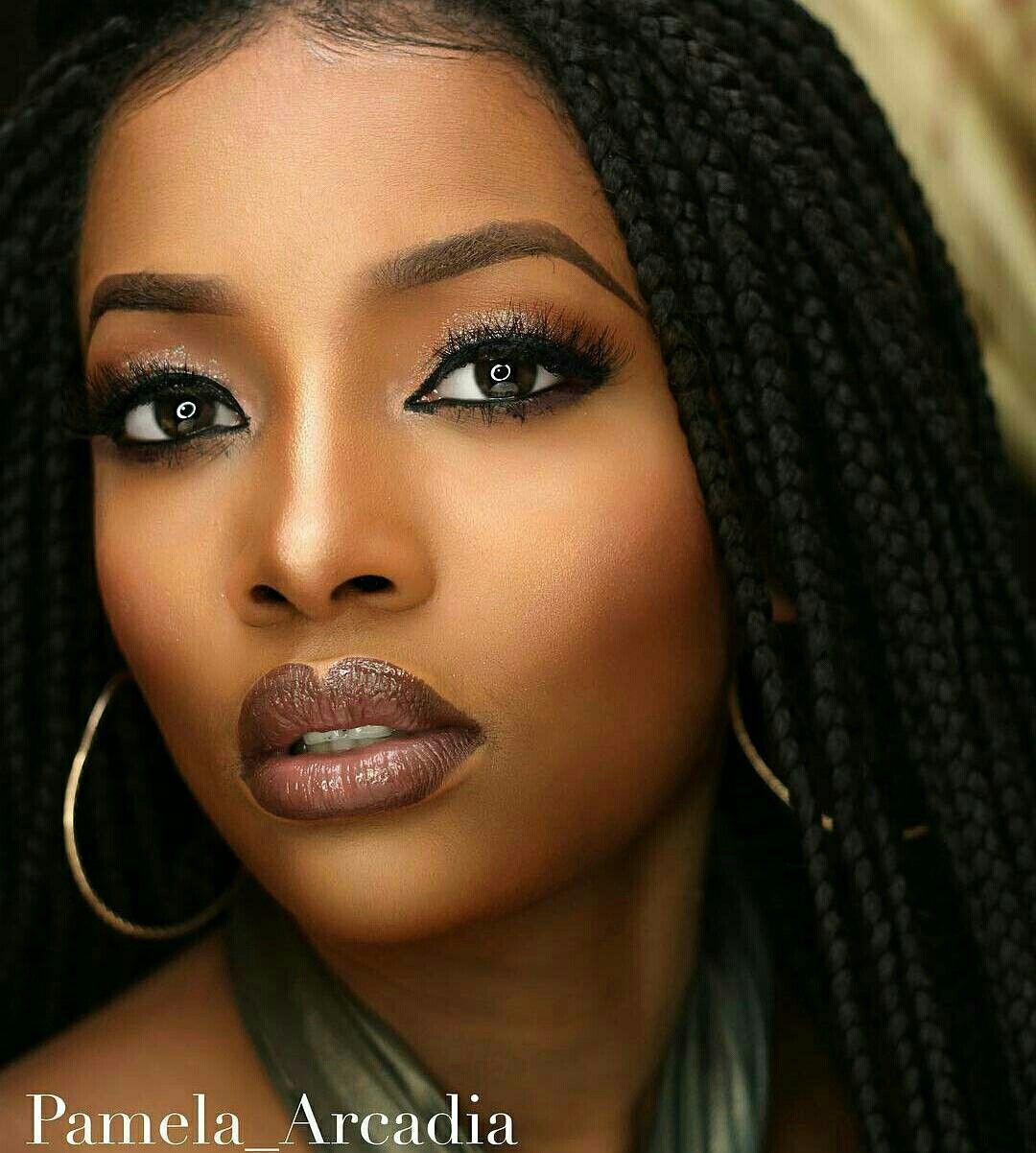 Pin by Lee Seneschal on Beauty Black girl makeup, Black