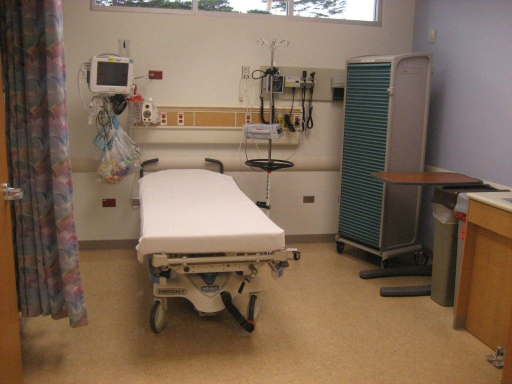 A Coma Patient Room Example With A Machinery Quot Dock Quot Above