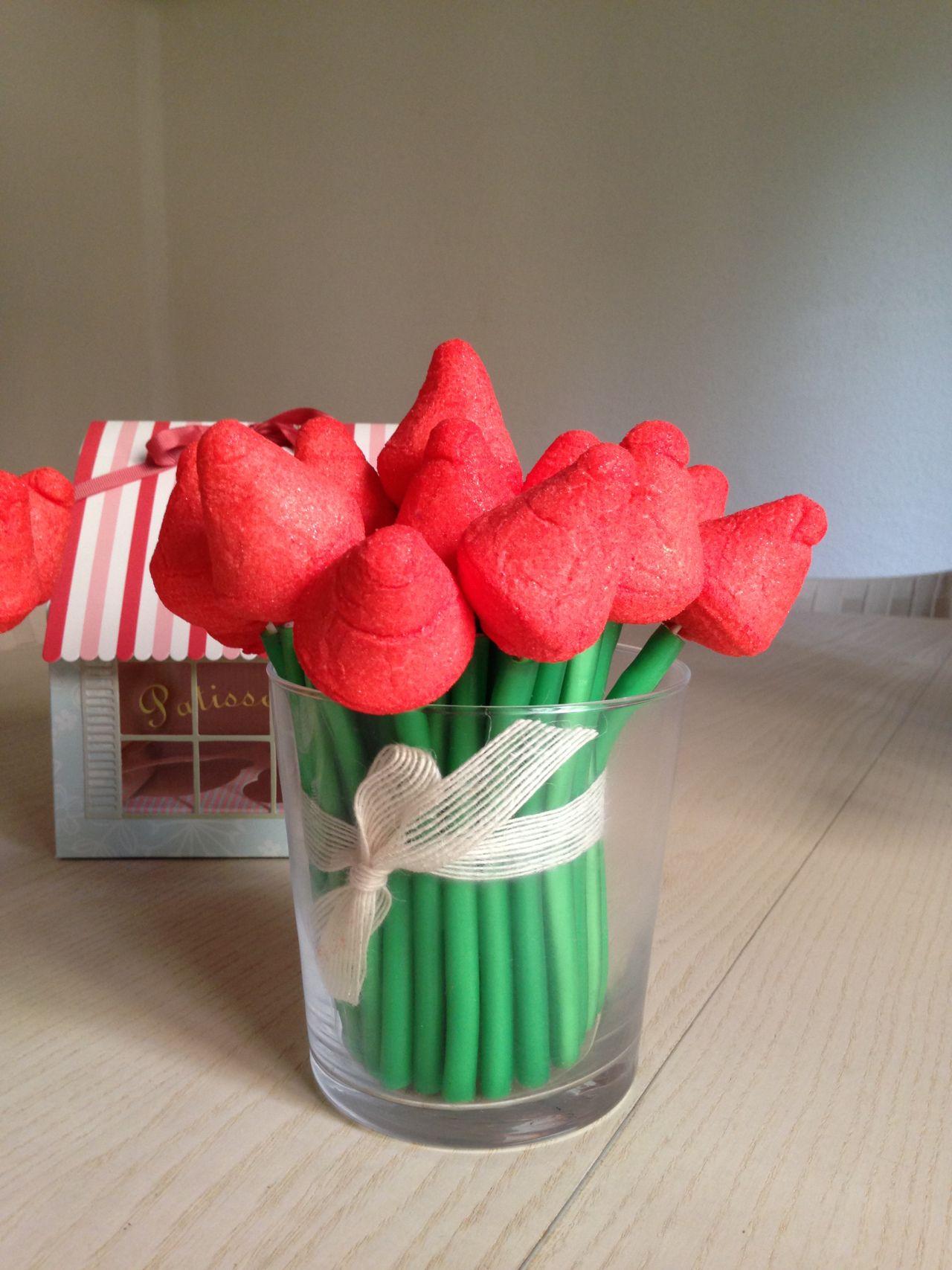 Centros Tulipanes chucerías