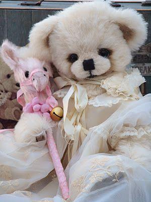 Teddy bear by Sandra Piper