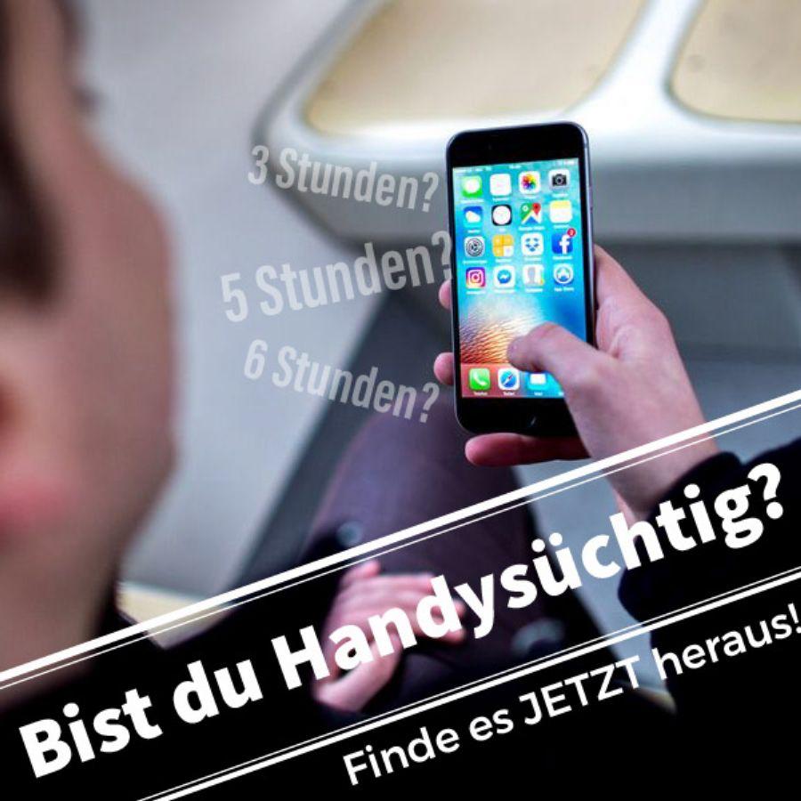 Bist du Handysüchtig? | Handy, Lustig humor, Lustig