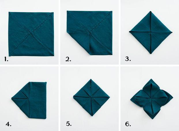 diy serviettenblumen falten f r weihnachten sinnenrauschadventskalender servietten. Black Bedroom Furniture Sets. Home Design Ideas