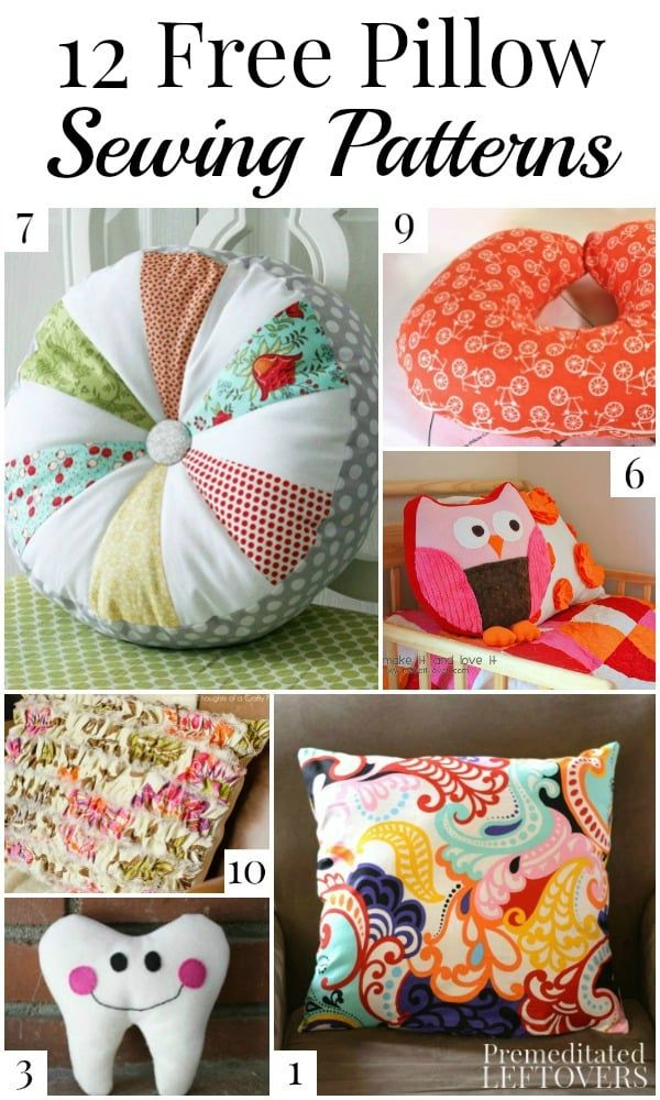 pillow cover patterns