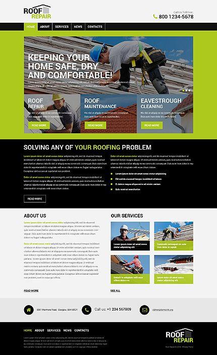 roofing company wordpress theme popular wordpress themes