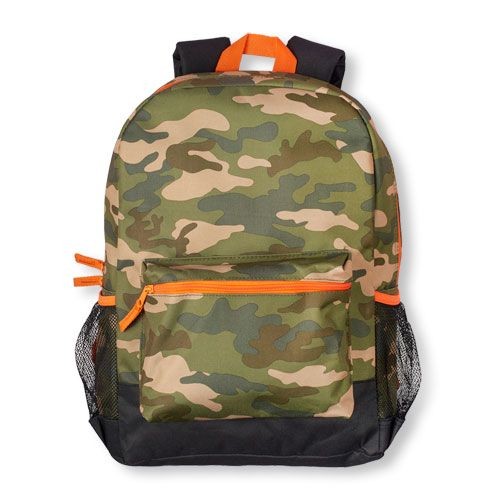 bab660b4 Boys Boys Camouflage Print Backpack - Green - The Children's Place ...