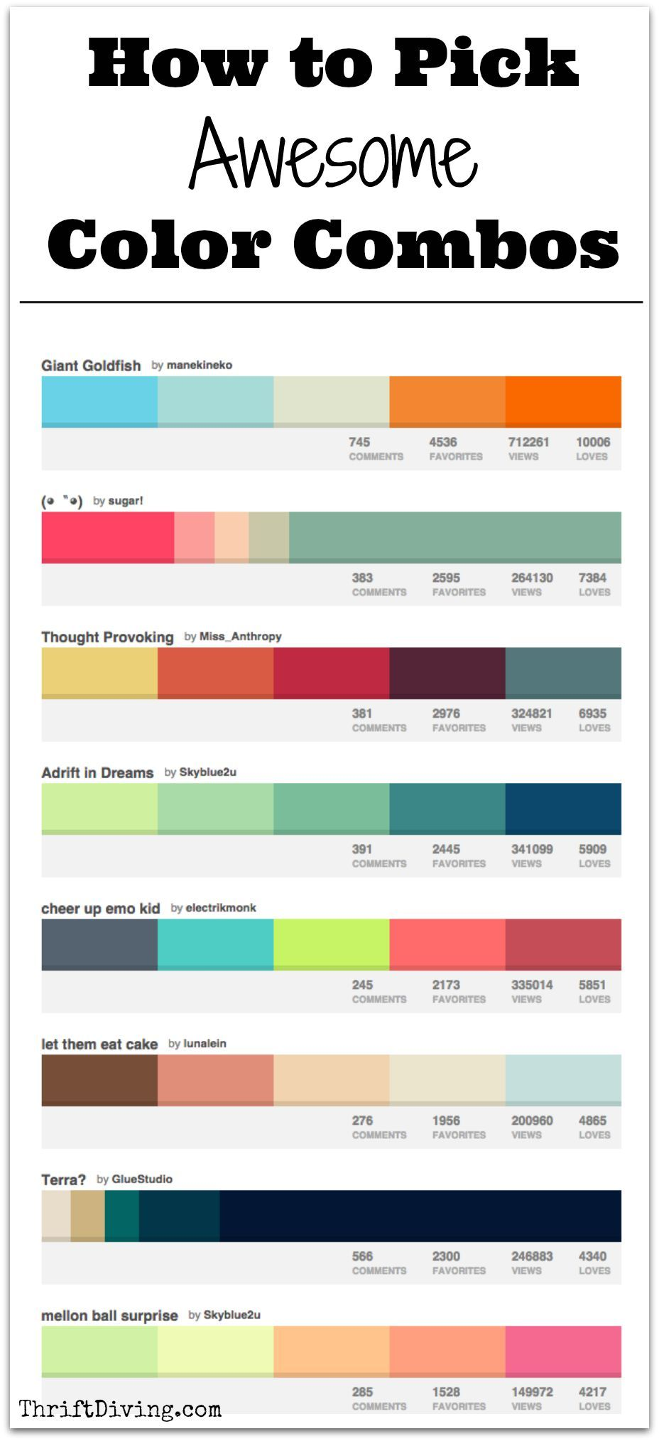 How to pick awesome color combos paint paint colors - How to pick paint colors ...