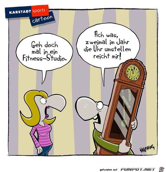 Uhr umstellen | Humor, Jokes, Funny