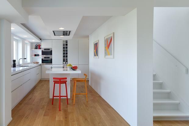 modernisiertes 60 jahre doppelhaus offene k che in 2018 k che pinterest 60er jahre 60er. Black Bedroom Furniture Sets. Home Design Ideas