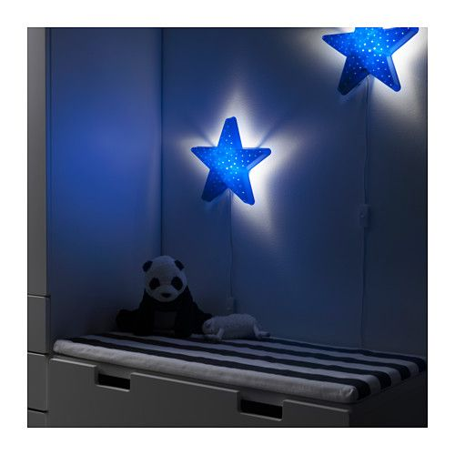 perfect smila stjrna wandlamp ikea with ikea muurlamp. Black Bedroom Furniture Sets. Home Design Ideas