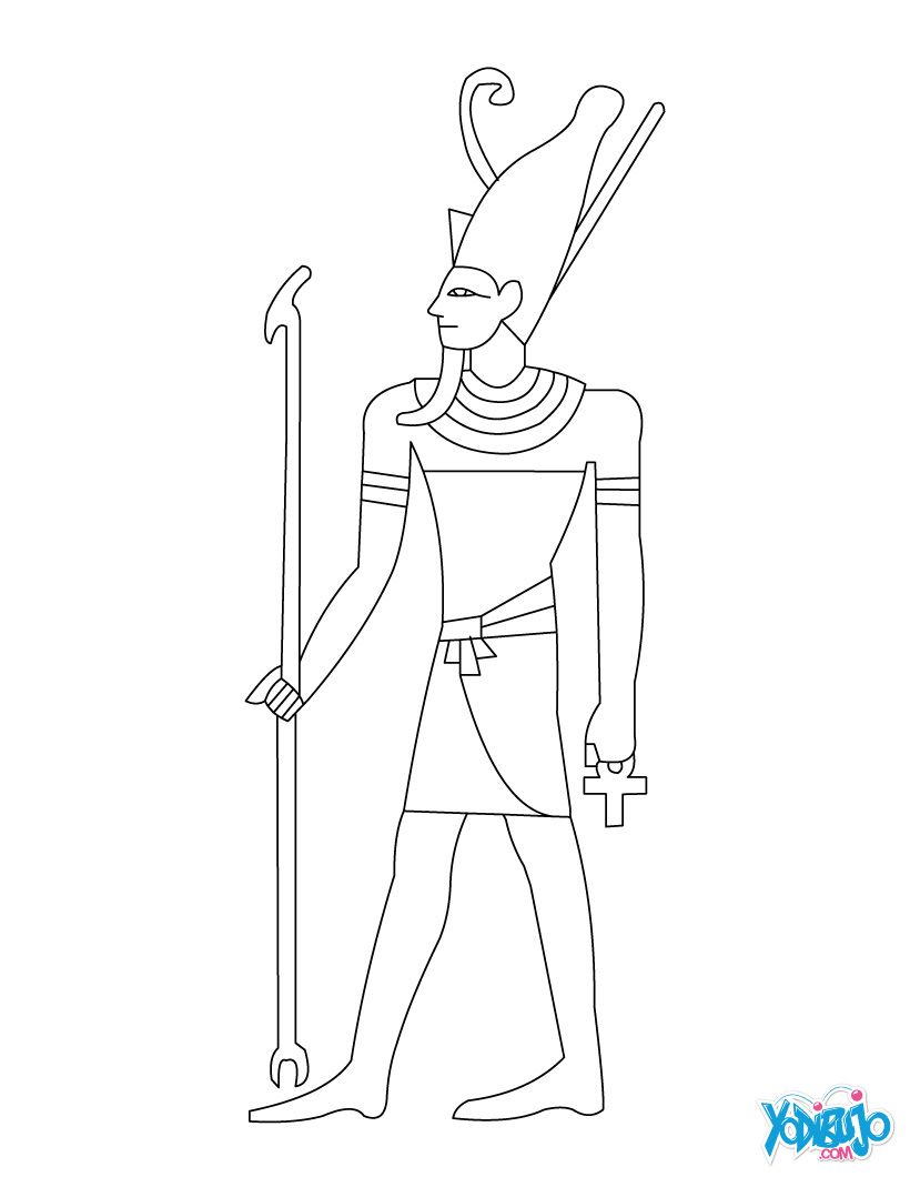 dibujos egipcios para colorear - Buscar con Google | dibujos ...