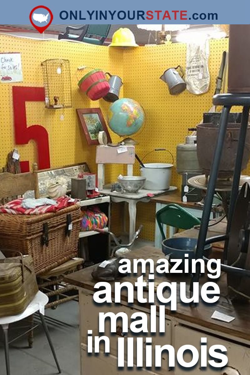 You Ll Never Want To Leave This Massive Antique Mall In Illinois