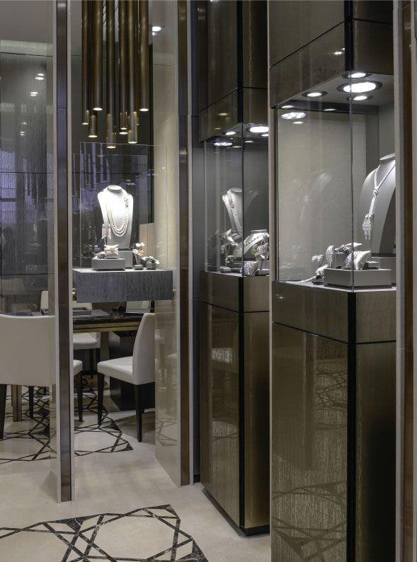 Crivelli luxury boutique in capri interior design and for Interior design studio roma