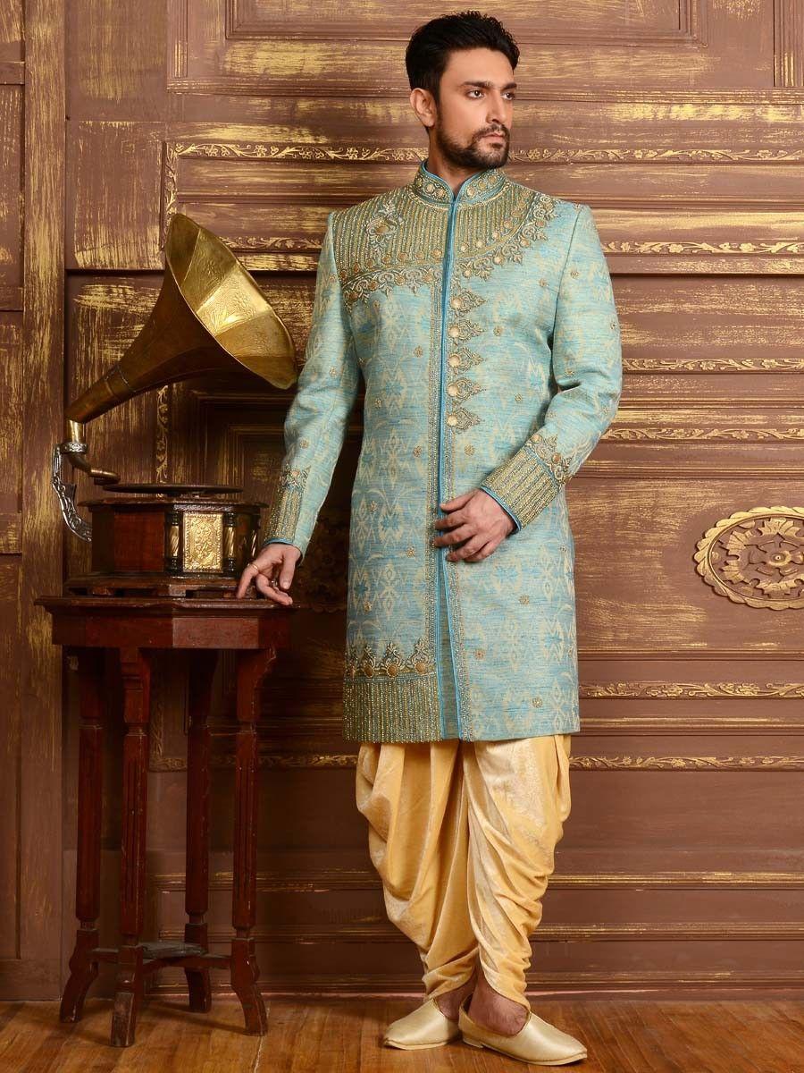 eab38d9b4b Sherwani With Peshawari. Sherwani With Peshawari Wedding Dress Men ...