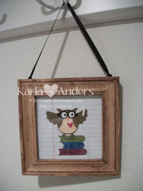 A Work of Heart, Teacher Gifts
