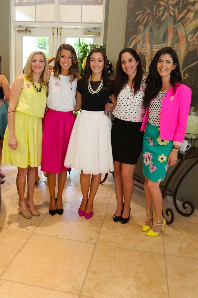 Brunch bubbly a kate spade inspired bridal shower the for Wedding dresses for invited guests