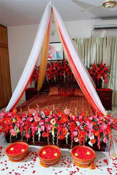 Bridal Bed Room Lovely Decoration