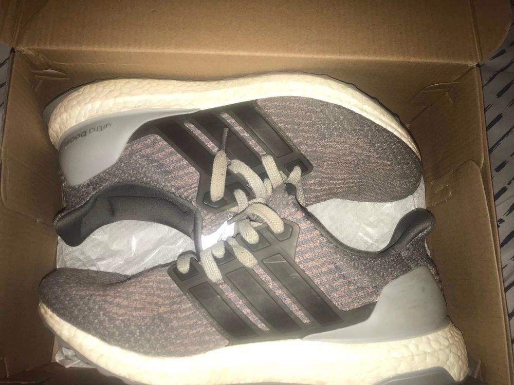 150a8bcf1 ultra boost 3.0 Grey Trace Pink Size 10  fashion  clothing  shoes   accessories  mensshoes  athleticshoes (ebay link)