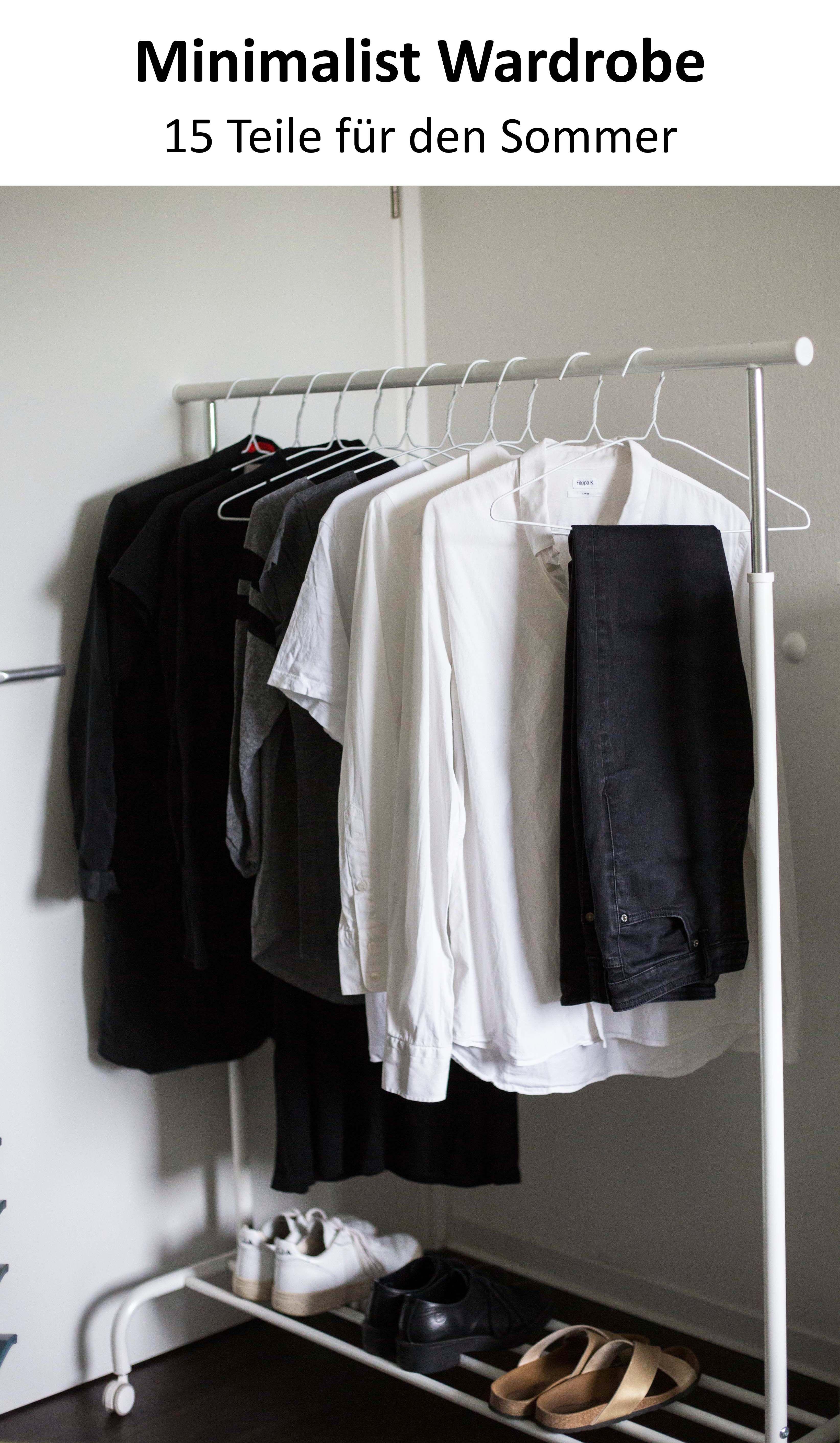 Juni15x30 challenge minimalismus im kleiderschrank for Minimalistischer kleiderschrank