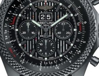 Limited edition per il Breitling for Bentley 6.75 Midnight Carbon