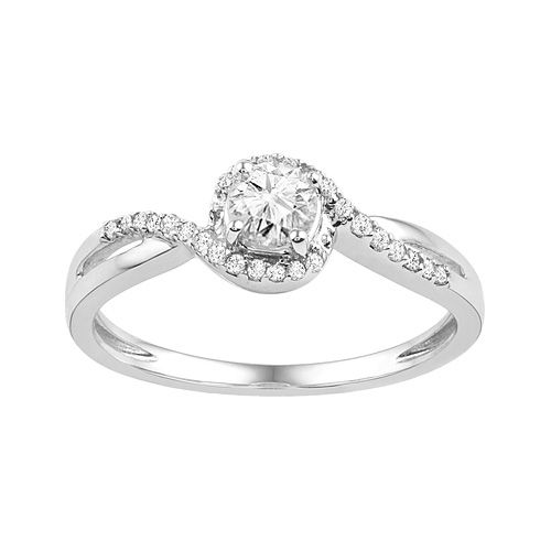 fred meyer jewelers 1 2 ct tw diamond engagement ring. Black Bedroom Furniture Sets. Home Design Ideas