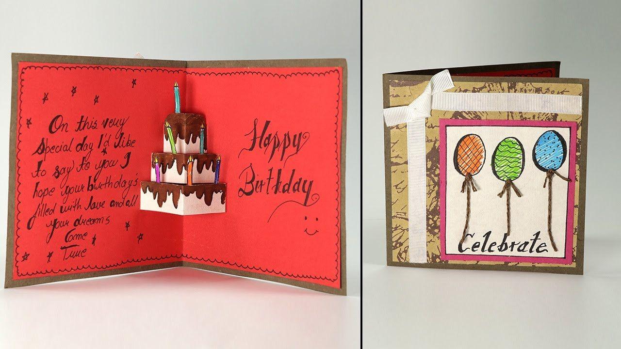 12 Unique Greeting Card Kaise Banta Hai Images Greeting Cards Handmade Birthday Birthday Cards For Boyfriend Birthday Greeting Cards