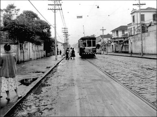 Agosto De 1957 Rua Bom Pastor No Bairro Do Ipiranga Sao Paulo