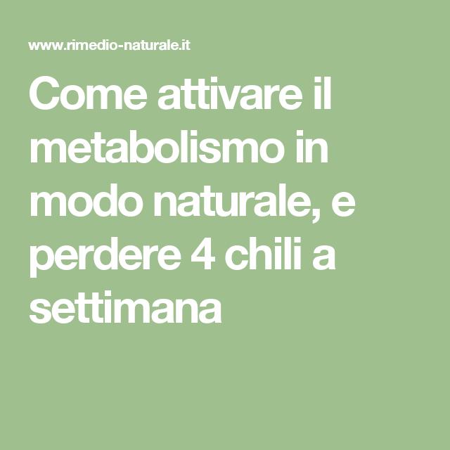 come riattivare il metabolismo in modo naturale migliori probiotici italiani