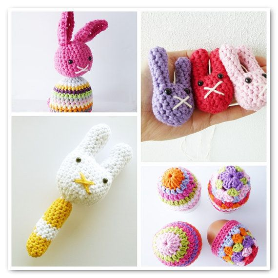 Crochet Easter Patterns (get one for free) | crochet | Pinterest ...