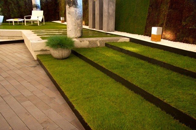 Garden Steps Made With Steel Lawn Edging From Everedge 400 x 300
