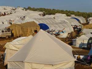 Atmeh Refugee camp (credit: sarabiany)