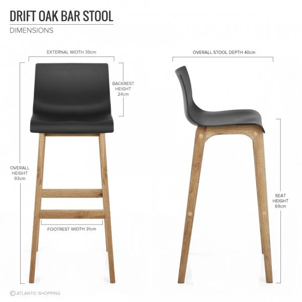 tabouret de bar r sine bois drift tabourets pinterest bar. Black Bedroom Furniture Sets. Home Design Ideas