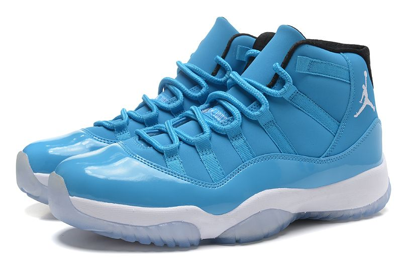"2014 Air Jordan 11 Retro ""Pantone"" University Blue/White-Black For Sale  Online"
