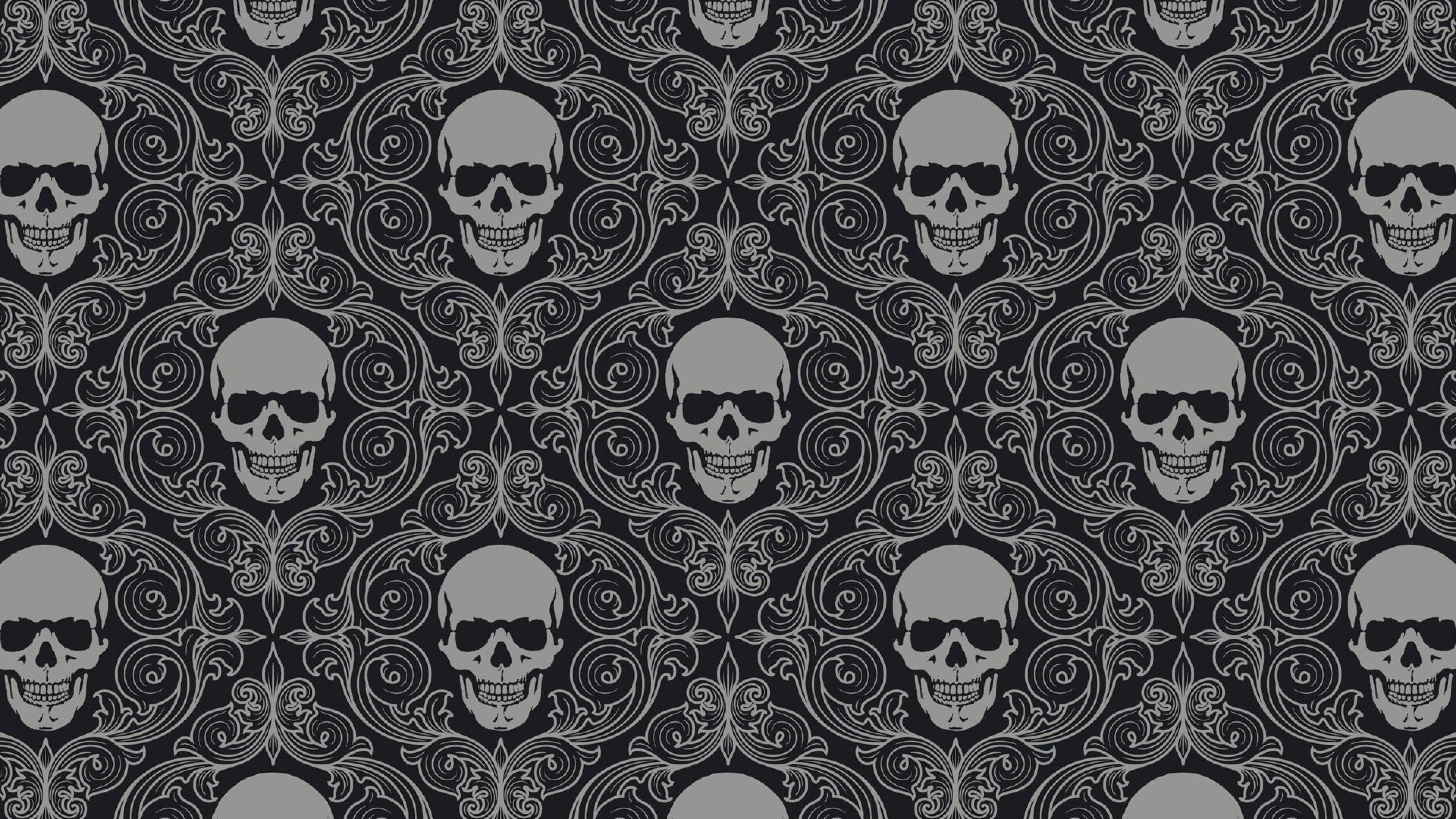 High Resolution Skull Wallpaper