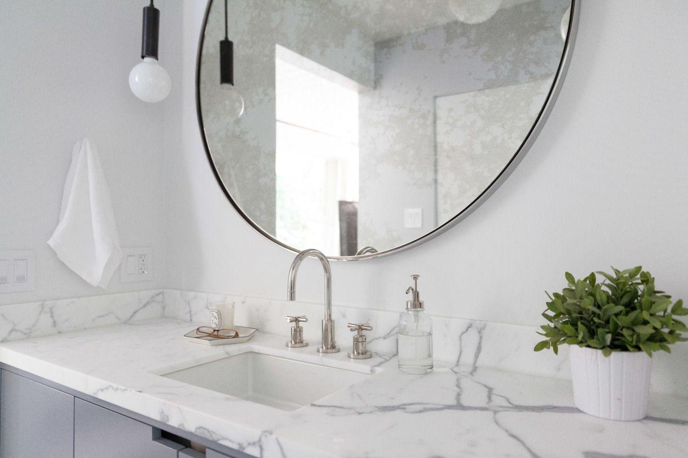 A midcentury sf homeus kitchen u bath reno hardware round
